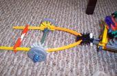 Wie erstelle ich einen Knex Anhänger und Haken für Knex Mini Fahrwerk LKW