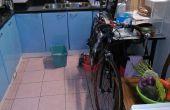 Zen und die Kunst der kleinen Wohnung Fahrrad Reinigung