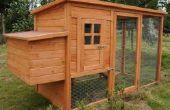 Wie man einen Hühnerstall bauen