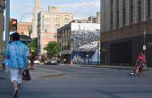 S.Alt Stadt: QR-Code interaktives Wandbild