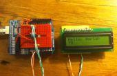 ATTiny45/85 LCD-Display-Steuerung mit einem Schieberegister, programmiert in Arduino