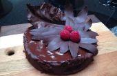 Oblivion Schokolade Torte mit Schokolade Bay und Kohl verlässt
