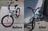 Sprühfarbe Ihr Fahrrad!