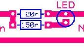 Einfache Ni-Cad Batterie-Ladegerät mit Led-Anzeige