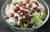 Broccoli-Salat, die Brokkoli-Hasser macht mehr verlangen