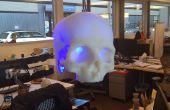 SKULLpilepsy!!!  3D-Druck LED-Lampe.