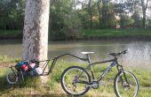 Einzelrad-Fahrrad-Anhänger