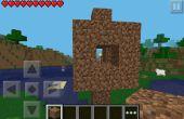 Wie erstelle ich eine Straßenlaterne auf Minecraft PE