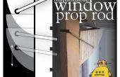 Verstellbare Fenster Prop Rod