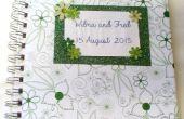 Hochzeit Gästebuch Umschlag