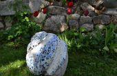 Wie erstelle ich eine Garten Skulptur
