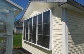 Meine Öko-Garage-Heizung: Eine pneumatische Sonnenkollektors