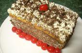 Wie erstelle ich ein Engel Nahrungsmittelkuchen Tiramisu