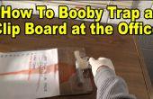 Wie man Sprengfalle ein Clip-Board! (Büro/Schule Streich)