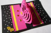 DIY 3D Kirigami Karte machen Ideen: Wie erstelle ich Pop-up-Liebe Herzkarte