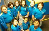 Wasser Rakete Abschußrampe für Wissenschaft Spaß V2