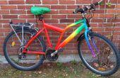 Regenbogen-Fahrrad-Verjüngungskur w. Acryl