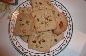 Eifreie Mehl und Zucker Cookies mit Nüssen (Keks)