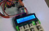 """Replizieren von """"Old-School"""" SMS mit einem Arduino, ein 4 x 4 numerisches Tastenfeld und ein 16 x 2 LCD"""