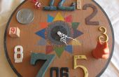 Funktionale gefunden Art Assemblage - Clock