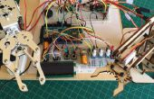 Programmierte Roboterarm