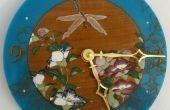 Gelaserte Libelle und Blumenuhr (mit epischen ausführlich)