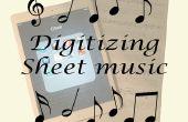 Digitalisieren von Noten für Ipad