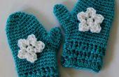 Einfach häkeln Handschuhe