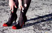 Anpassen der Schuhe mit Sprühfarbe und Sugru