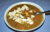 Wie machen Split Pea-Schinken-Suppe, die Art und Weise meine Mutter mir beigebracht