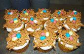 Vogel-Nest Cupcakes