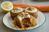 Karotten-Muffins mit Zitrone Cream Cheese Frosting