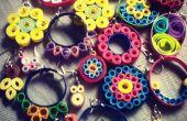 Quilling Ohrringe: Einfach und schön!