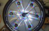 Fahrrad Sicherheit Hilfe Prototyp: 3D dynamische Rad Licht