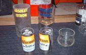 Schneiden Glasflaschen