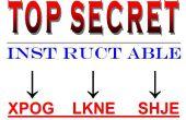 Spion-Tech - praktische Codes