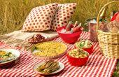 Wie man ein Lebensmittel sicher Picknick haben