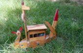 Künstliche Boot Handwerk aus Sperrholz