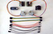 Arduino Nano und Visuino: 2 Schrittmotoren mit Joystick steuern
