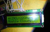 Wetter Anzeige mit Arduino und Raspberry Pi