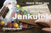 Machen Sie eine Ukulele aus alten Compact Discs (CDs)
