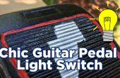 Schicke Gitarre Pedal Lichtschalter