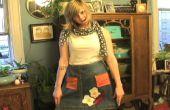 Wie erstelle ich eine Schürze aus alten Jeans