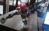 Macht einen Lowcost humanoider Roboter hergestellt aus PVC-Rohrmaterial (Upgrade)