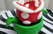 (Mario Bros) Piranha-Pflanze-Cupcake