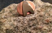 Star Trek Pin! aus Nickel und Kupfer Rohr