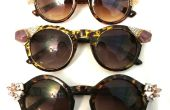 Sonnenbrille mit Schmuck aktualisieren