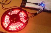 LED-Streifen Controller w / LED Amp + Arduino