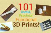 101 nützliche, praktische und funktionelle 3D-Drucke!