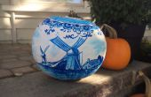 Niederländische Keramik Kürbis